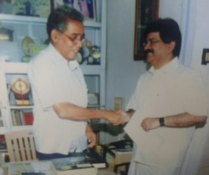 JP Menon and Entrance Guru Prof. P C Thomas